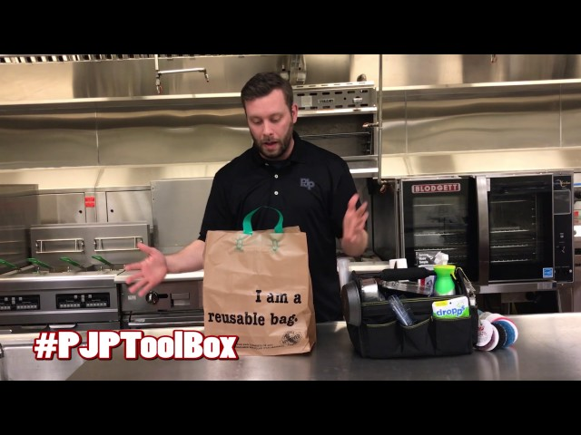 Reusable Tote Bag ToolBox Demo