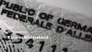 Fingerabdruck im Personalausweis - Kleiner Widerstand