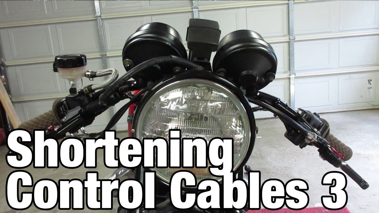 Shortening Motorcycle Cables Part 3 : Honda CX500