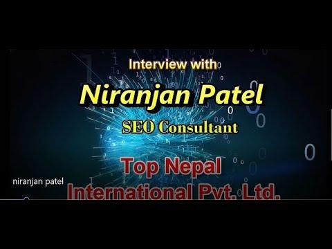 Interview with SEO Expert Nepal, Niranjan Patel