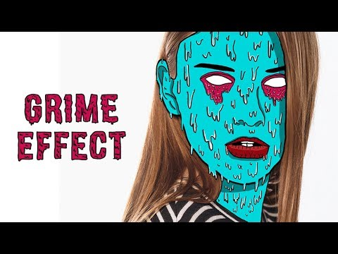 How To Create Grime Effect | Photoshop Tutorial | Zombie Edit