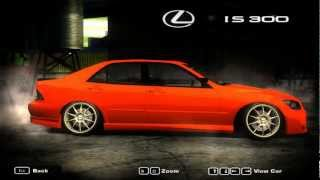 Stance/Tuned Cars Part 1 - Need for Speed Most Wanted