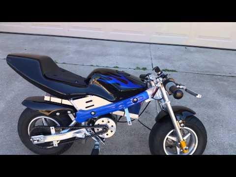 Mototec 36v electric pocket bike