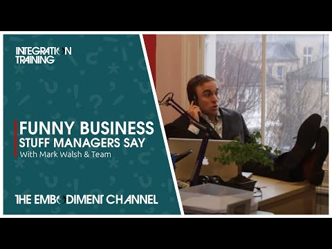 Funny business video - Stuff managers say (business jargon)