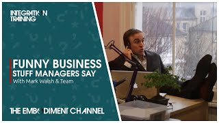 Funny business video - Stuff managers say (business jargon) thumbnail