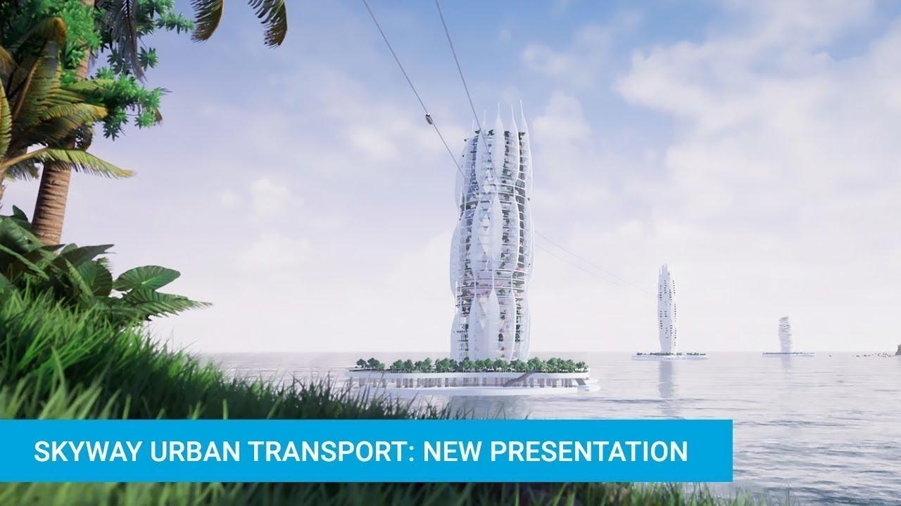 Vận tải đô thị SkyWay: Bản trình bày mới