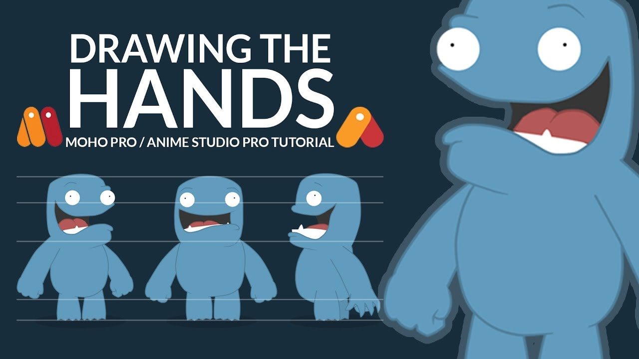 Character Design Anime Studio Story : Character design tutorial moho pro anime studio