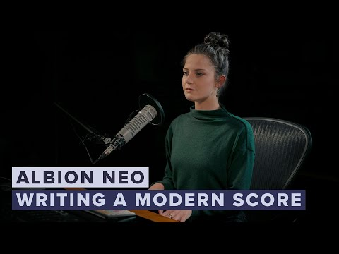 Writing A Modern Score With Albion NEO