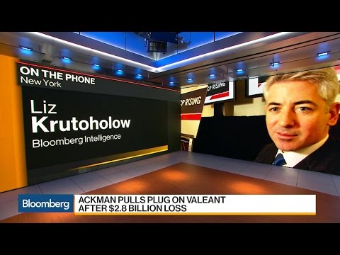 Bill Ackman Sells Valeant Stake After $2.8 Billion Loss