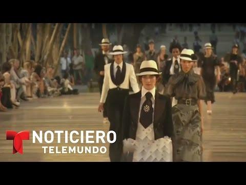 La casa de modas Chanel realiza desfile en La Habana | Noticiero | Noticias Telemundo