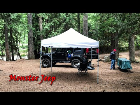 Camping on the Clackamas River - September 16th & 17th, 2017.