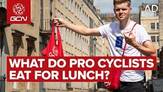 What Do Tour de France Riders Eat For Lunch? | How Pro Cyclists Fuel For Bike Races