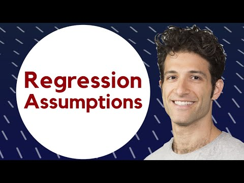 Regression assumptions explained!