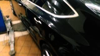 Видели бы меня немцы))) борьба со снятием номеров!(Audi A7 3.0 TFSI quattro, срезаю болты, номера, тонировка, Муром!, 2014-01-16T14:47:21.000Z)