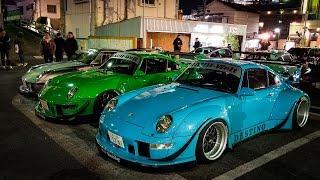 When Nakai-San Brings 20+ RWB Porsches to a Meet