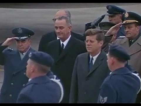 JFK IN NEBRASKA (AND IN COLOR!) (DECEMBER 7, 1962)