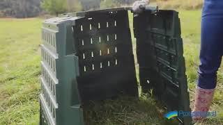 Компостер Biocompo 900л ц. зеленый
