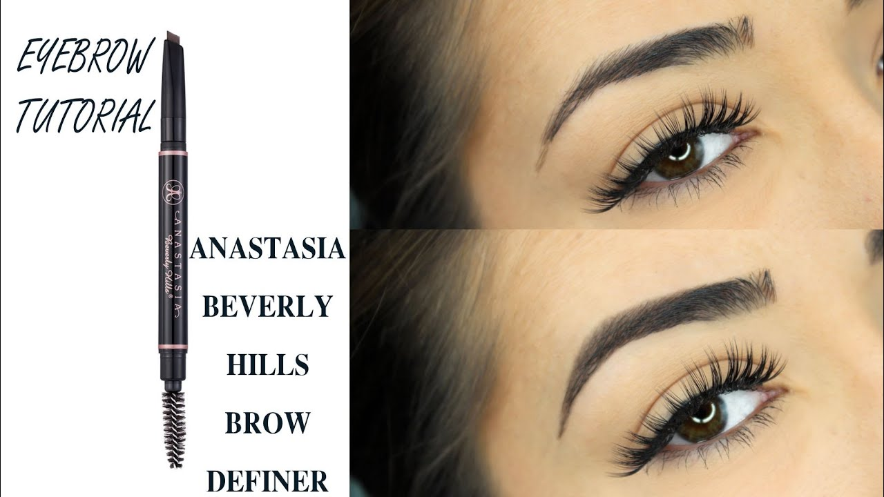 Eyebrow Tutorial Anastasia Beverly Hills Brow Definer Youtube