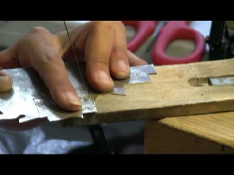 Native American Indian Jewelry - how to make - Necklace Piece Part one