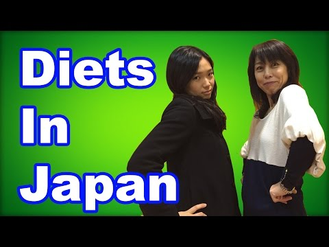 Japanese thoughts on dieting (Why they're so skinny)