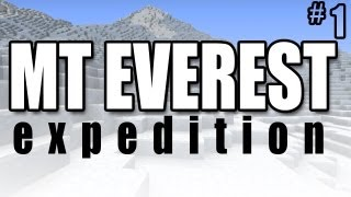Minecraft Adventures - Mt Everest Expedition #1