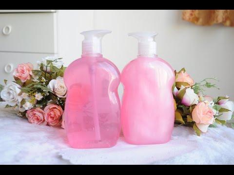 วิธีทำสบู่เหลวอาบน้ำ ( how to make shower gel )