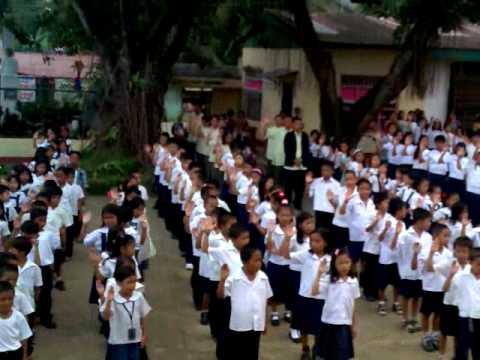 Flag ceremony aurelio elementary schooL - YouTube Raising Ceremony