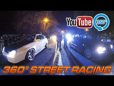 360° Video - A Night At The Street Races - FULL 35min VIDEO!