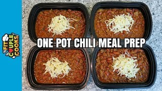 How to Meal Prep - Ep. 60 - ONE POT CHILI ($3/Meal)