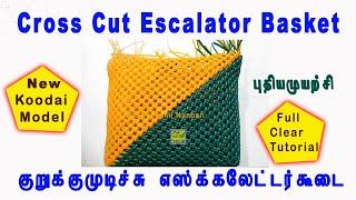 #EPIn - Escalator Basket , Market Koodai,  Normal Knot Cross cut Wire Basket