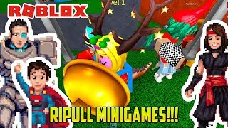 WE CRUSH THESE MINIGAMES ON ROBLOX! (Okay, not really)
