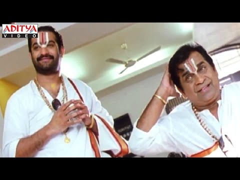 Brahmanandam & Ntr Hilarious Comedy Scenes In Judwa No1 Hindi Movie thumbnail