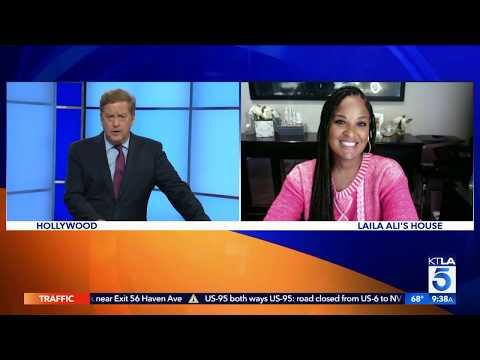Laila Ali discusses Building Black Wealth on KTLA