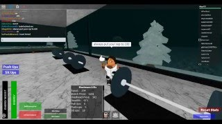 Roblox gym getting stronger also cheats to lift