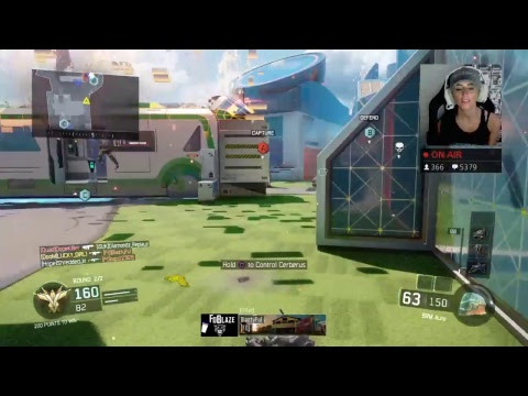 BLACK OPS 3 MULTIPLAYER WITH NUMBER 2 LEADERBOARD PLAYER LUCKYGIRL!!!
