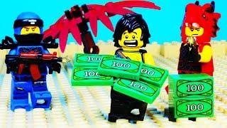 Lego Ninjago Hunted Dragon Bank Robbery Prank