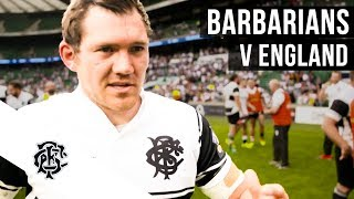 Exclusive: England v Barbarians - Behind The Scenes | England v Barbar