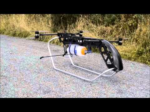 Cargo Drone Evolution & Testing by Drone Lift International