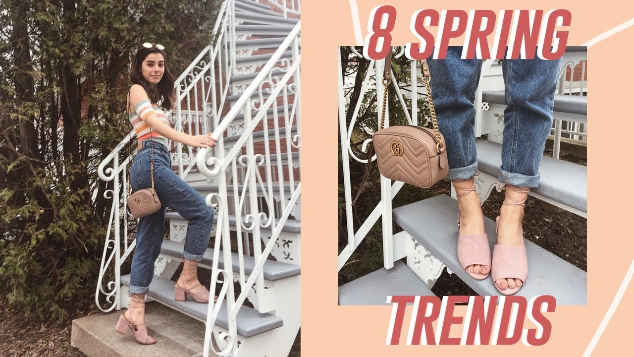 HOT Spring Trends + Outfits