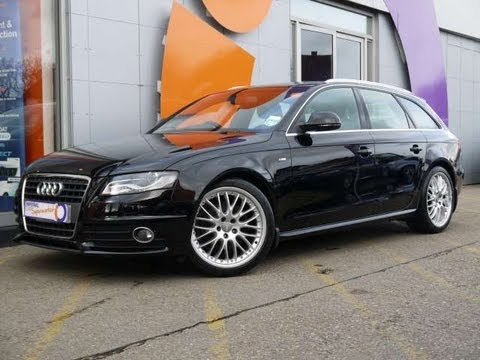 2009 Audi A4 Avant S Line 20tdi 170 Black For Sale In Hampshire