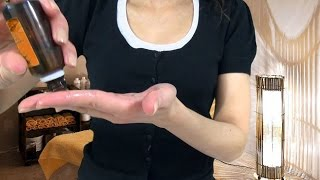 ASMR - Ears Massage With Oil & Lotion Role Play in Polish + Lotion Sounds