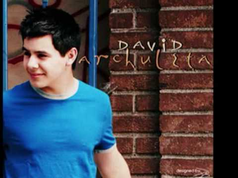 David Archuleta - A Little Too Not Over You - YouTube