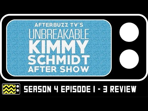 Download Unbreakable Kimmy Schmidt Season 4 Episodes 1 - 3 Review & Reaction | AfterBuzz TV