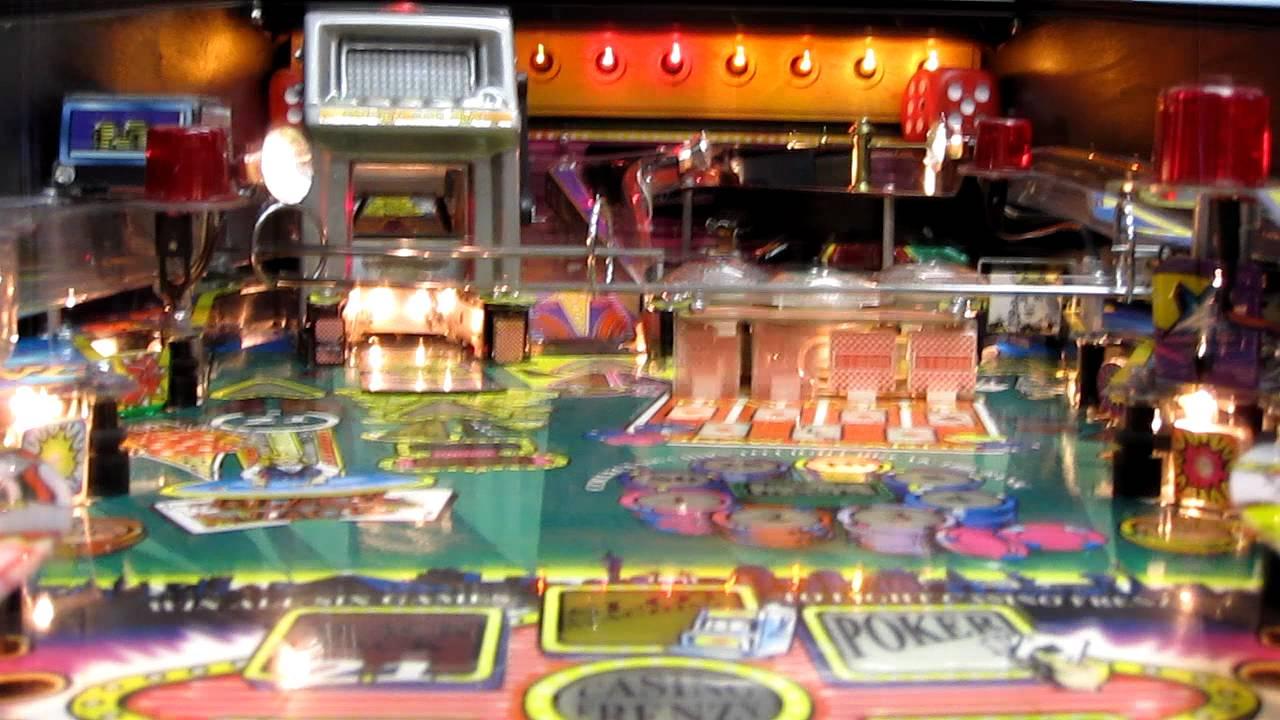 high roller casino pinball video