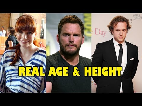 Real Age And Height Of Jurassic World - Fallen Kingdom Actors And Actresses