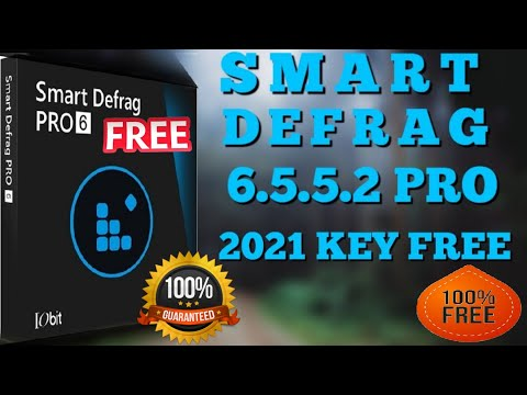 Best Free Defragmenter 2021 IObit Smart Defrag 6.5 Pro + Serial Key Free 2020 || 2021|| 101