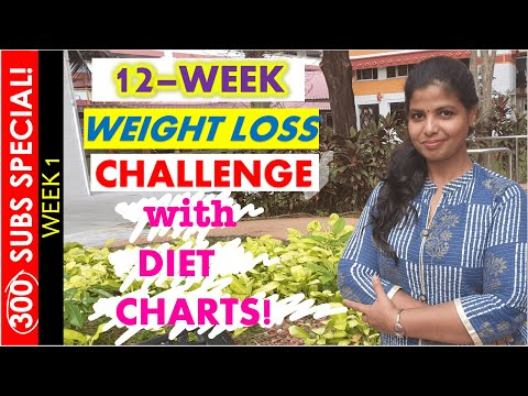 WEIGHT LOSS DIET PLANS \u0026 TIPS IN TAMIL-KETO/LOW CARB | Week1- 2020 Weight Loss Challenge