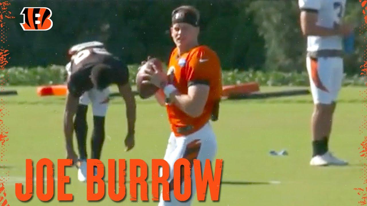 How Will Joe Burrow's Early Leadership Translate to the Field? | Cincinnati Bengals