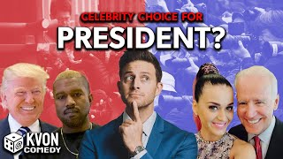 Trump vs Biden: Who's the Celebrity Choice for President?! (Face-Off hosted by comedian K-von)