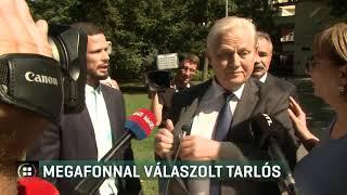 Megafonnal válaszolt Tarlós István -19-09-13